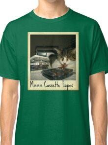 Mmmm Cassette Tapes Classic T-Shirt
