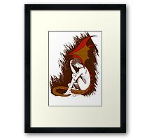 The Desperation of Smaug Framed Print