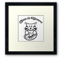 Cinco de Meow-o Framed Print