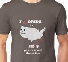F*orida is Sh*t (for dark shirts) Unisex T-Shirt