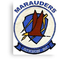 VA-82 Marauders Patch Canvas Print