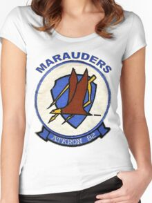 VA-82 Marauders Patch Women's Fitted Scoop T-Shirt