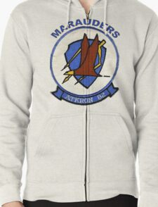 VA-82 Marauders Patch Zipped Hoodie