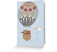 Hot Air Terrarium Greeting Card