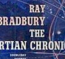 The Martian Chronicles  Sticker