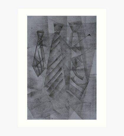 Ties Art Print