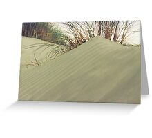 sand-dune Greeting Card