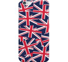 Union Jack Flag Classic United Kingdom Pattern iPhone Case/Skin
