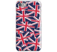 Union Jack Flag Classic United Kingdom Pattern iPhone Case/Skin