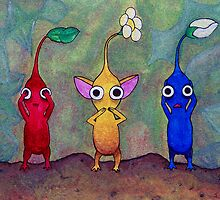 Pikmin: See No Evil, Speak No Evil, Hear No Evil by Joseph Uzzo