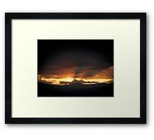 ©TSS The Sun Series XVIIB The Glow Framed Print