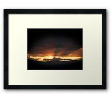 ©TSS The Sun Series XVIIB The Glow Framed Print
