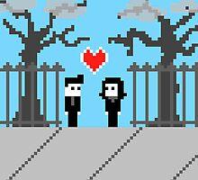 Pixel Love: We Found Love by Joseph Uzzo