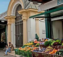Viennese Street market by phil decocco