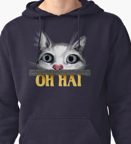 Oh Hai-gold Pullover Hoodie