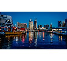 Melbourne On The Yarra Photographic Print