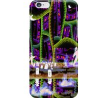 Little Haunted Fractal Forest of Horrors  iPhone Case/Skin