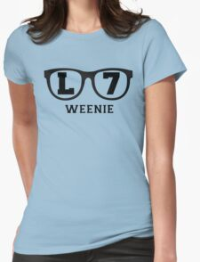 L 7 Weenie Womens Fitted T-Shirt