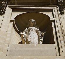 Virgin Mary at Saint-Paul Asylum, Saint-Rémy by milyon