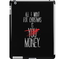 All I Want For Christmas iPad Case/Skin