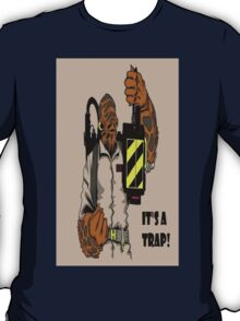 Ackbar Ghostbusters Spoof T-Shirt