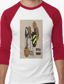 Ackbar Ghostbusters Spoof Men's Baseball ¾ T-Shirt