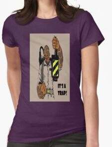 Ackbar Ghostbusters Spoof Womens Fitted T-Shirt