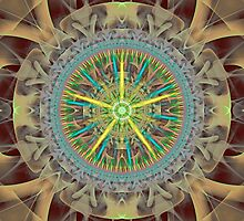 Lace Wheel by Pam Amos
