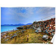 Luskentyre, Isle of Harris Poster