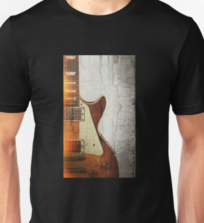 Guitar Vibe 1- Single Cut '59 Unisex T-Shirt
