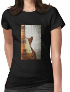 Guitar Vibe 1- Single Cut '59 Womens Fitted T-Shirt
