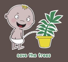Save the Trees Baby Tee