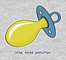 Stop Noise Pollution One Piece - Long Sleeve