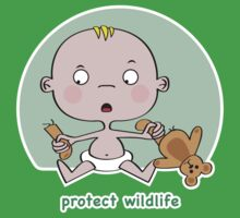 Protect Wildlife Kids Clothes