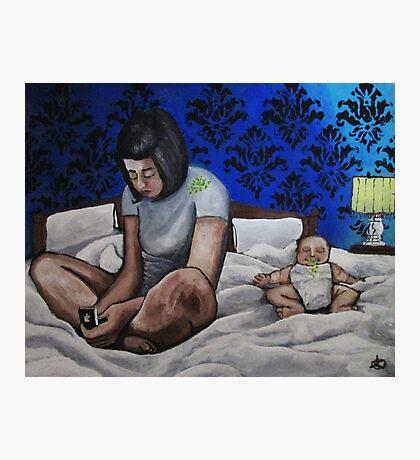 Google: Parenting Photographic Print