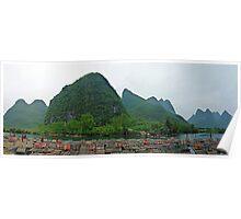 Li River Cruise 02 Poster