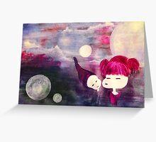 innocent kisses Greeting Card