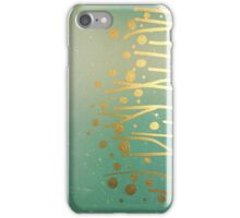 gold on clouds iPhone Case/Skin