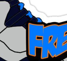 Bobcat Fresh Sticker