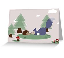 Woodland Friends Greeting Card