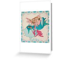 Mermaid Tessellation Greeting Card