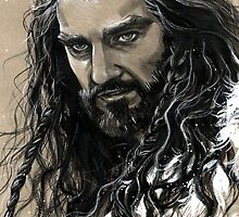 Thorin Oakenshield of company by evankart