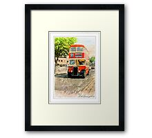 Do You Go Past The Kings Hall Mister? Framed Print