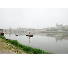 View on misty Blois Photographic Print