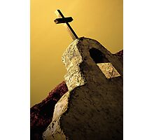Church on the Rio Grande Photographic Print