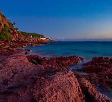 Bar Beach, Merimbula by Patrick Wood