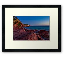 Bar Beach, Merimbula Framed Print