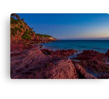 Bar Beach, Merimbula Canvas Print