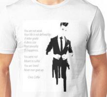 Chris Colfer- Equality Unisex T-Shirt