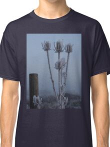 Teasel in the freezing fog Classic T-Shirt